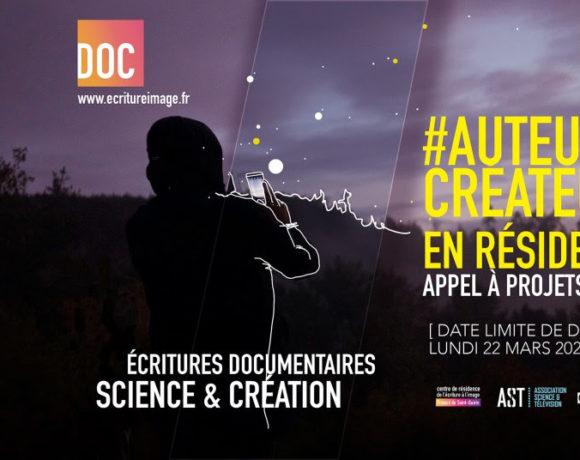Appel à projets du Festival Pariscience – Résidence d'écriture documentaire de Saint-Quirin