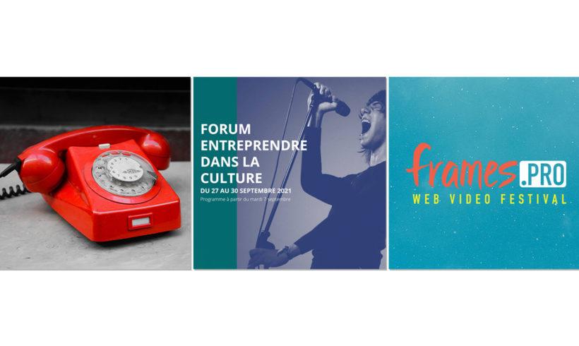 ☎️ La permancence reprend, 🎥 Frames Pro, 💬 Forum Entreprendre… C'est la rentrée !